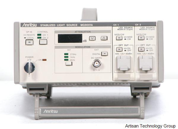 Image of Anritsu-MG9001A by Artisan Technology Group
