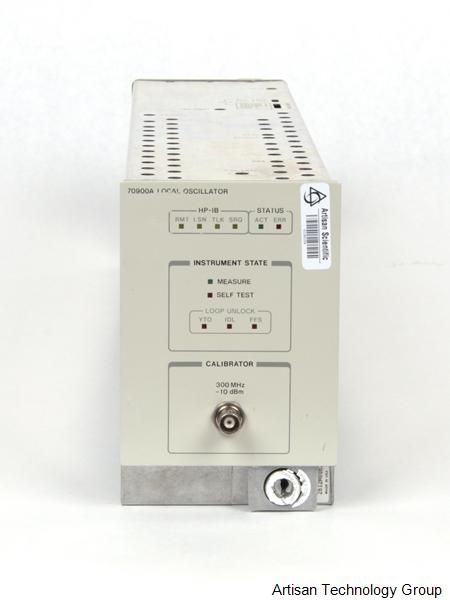 Image of Agilent-HP-70900A by Artisan Technology Group