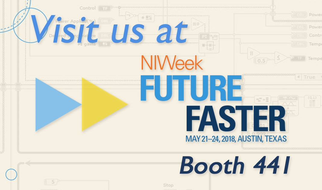Visit us at NIWeek, August 6-9, 2013 - Booth 121