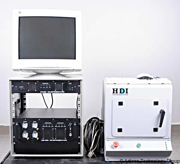 HDI Instrumentation IPS-6000 / SRA-FA Hard Disk Surface Reflectance Analyzer and Controller