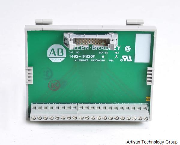 Rockwell / Allen-Bradley 1492-IFM20F 20-Point Interface Module