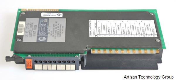 Rockwell / Allen-Bradley 1771-OW Selectable Contact Output Module