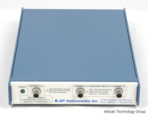 AP Instruments 102C 15 MHz Analog Network Analyzer