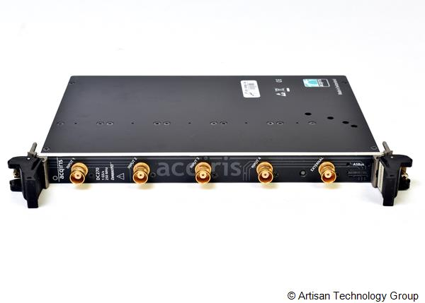 Acqiris U1063A-002 / DC270 Modular Quad-Channel CompactPCI Digitizer with Oscilloscope Characteristics
