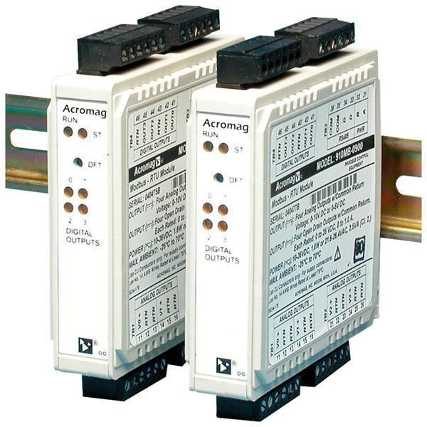 Acromag BusWorks 917MB-0900 DC Current Modbus-RTU Output Module with Discrete Outputs