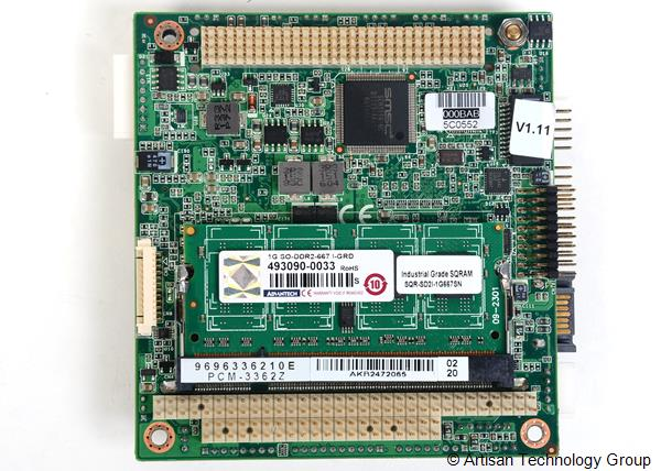 Advantech PCM-3362Z Intel Atom N450 PC/104-Plus SBC