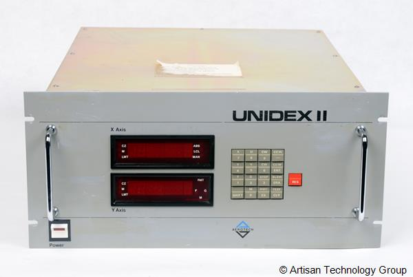 Cobham / Aeroflex Unidex II/2C/W(x2)/10KR(x2)/4005(x2) Two-Axis, Point-to-Point, Microprocessor Controlled Positioning System