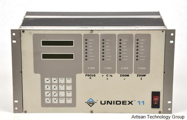 Aerotech U11R-XI-4R/6KB/OPI/RS232/ACL DCL/DM4005-4000-2M/D3001-400-2M Unidex 11 4-Axis Motion Controller
