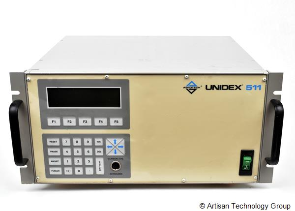Aerotech Unidex U511R-A-80-80/X4/DS16020C-F5/U11/BRAKE-1/IEEE/ES14148-1 Multi-Axis Motion Controller