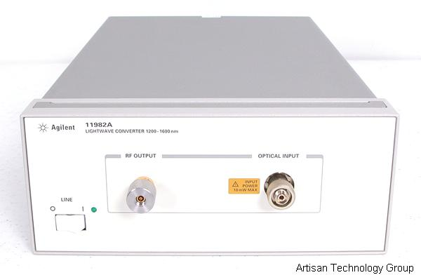 Keysight / Agilent 11982A Amplified Lightwave Converter