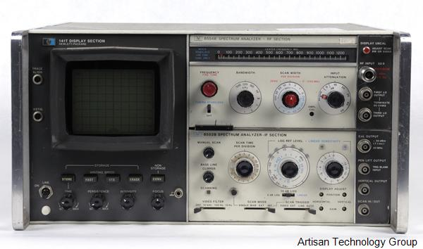 Keysight / Agilent 141T Spectrum Analyzer Mainframe