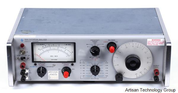 Agilent / HP / Keysight 331A / 332A Distortion Analyzer