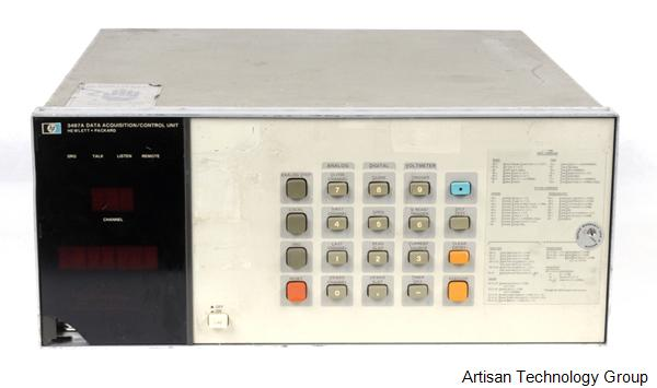 Keysight / Agilent 3497A Data Acquisition/Control Mainframe