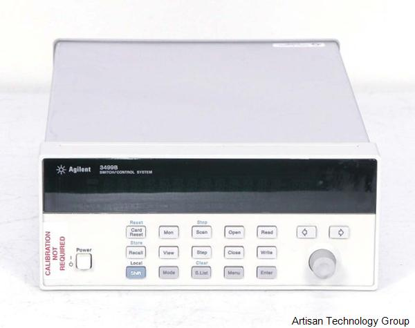 Keysight / Agilent 3499B 2-Slot Switch / Control Mainframe