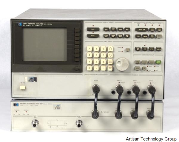 Keysight / Agilent 3577A and 35677B Network Analyzer and S-Parameter Test Set