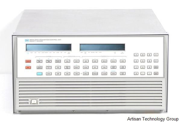 Keysight / Agilent 3852A Data Acquisition / Control Unit and 447XXX Series Modules