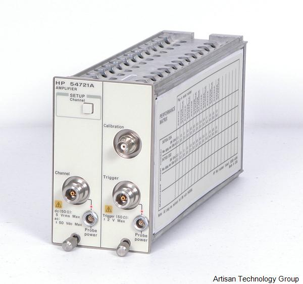 Keysight / Agilent 54721A 1.1 GHz Amplifier Plug-in with N-type connectors