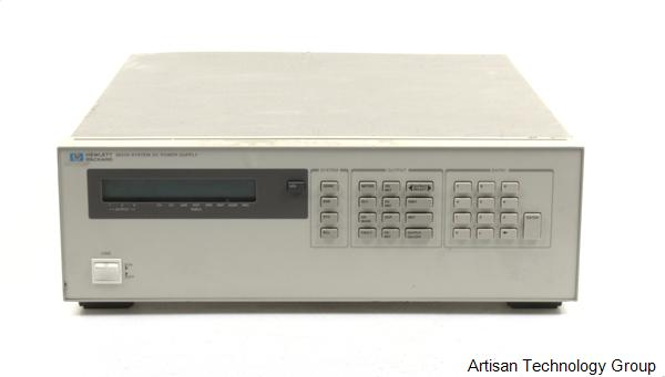 Agilent / HP 6623A Multiple Output Linear DC Power Supply
