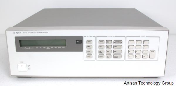 Keysight / Agilent 6624A Quad-Output Low-Noise Power Supply