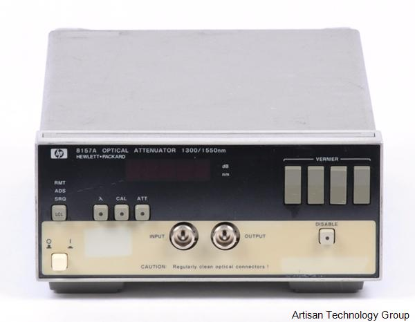 Keysight / Agilent 8157A Optical Attenuator