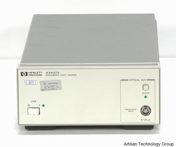 Keysight / Agilent 83437A Broadband Light Source - Options 001, 005, H10