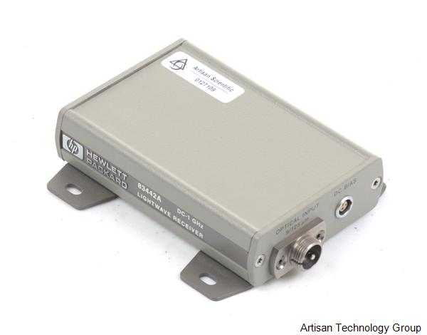 Agilent / HP 83442A Amplified Lightwave Receiver