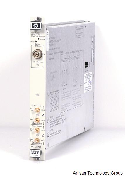 Agilent / HP E1670A/B SONET/SDH Optical Interface