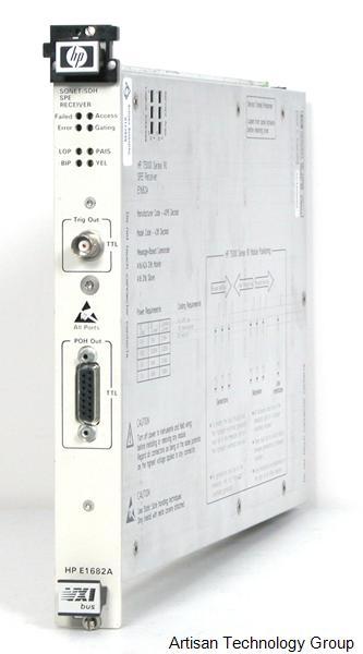 Keysight / Agilent E1682A SONET / SDH Synchronous Payload Envelope Receiver 75000 series VXI Module