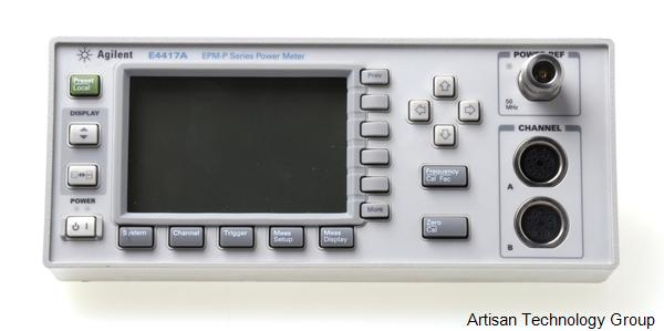 Keysight / Agilent E4417A EMP-P Series Single Dual Channel Power Meter Front Panel