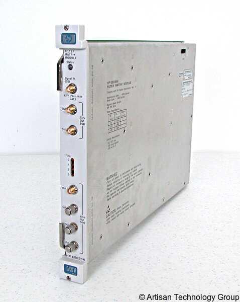 Keysight / Agilent E5036A Filter Matrix VXI Module