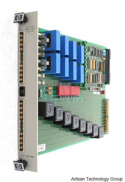 Keysight / Agilent E6178B 8-Channel Heavy Duty Load Card
