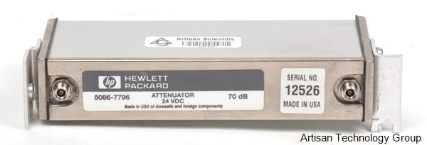 Keysight / Agilent 5086-7796 70dB Attenuator 24VDC Powered