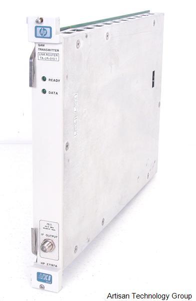 Keysight / Agilent Z7197A QAM Transmitter VXI Module