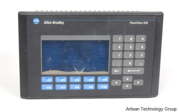 Rockwell / Allen-Bradley PanelView 550 Series Interface Terminals