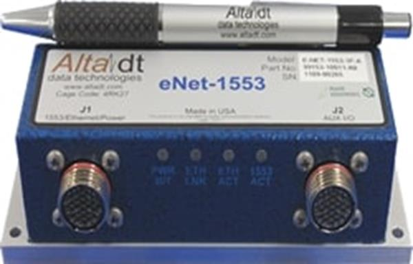 Alta Data Technologies ENET2-1553-1D Dual-Channel 1553 for Real-Time Ethernet Connectivity Module