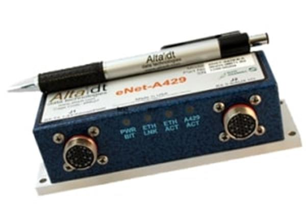 Alta Data Technologies ENET-A429-4 Remote ARINC Operations for Ethernet Networks Module