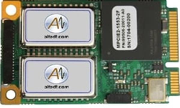 Alta Data Technologies MPCIE2-1553-1D 1MIL-STD-1553 Channel, Dual Function for Mini-PCI Express Systems