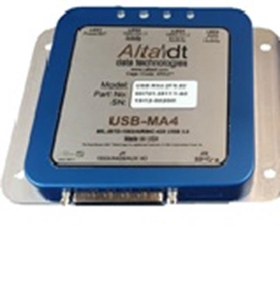 Alta Data Technologies USB-MA4-1D8 Multi-Channel 1553 and ARINC USB 3.0 SuperSpeed Module