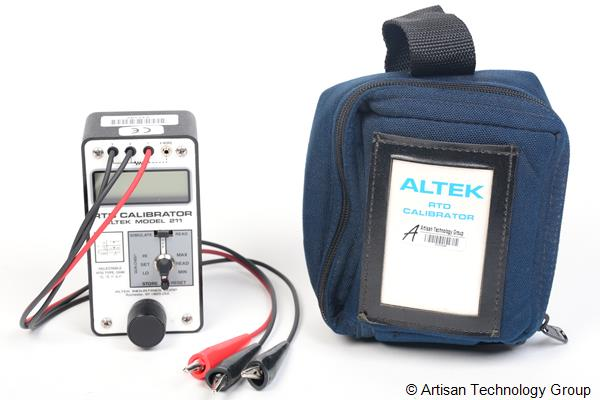 Altek Model 211 RTD Calibrator