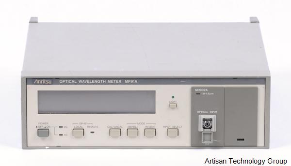 Anritsu MF91A Optical Wavelength Meter