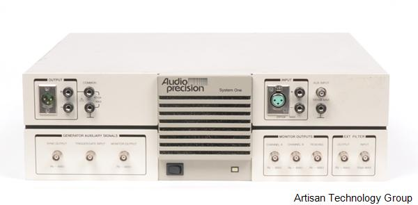 Audio Precision SYS- -11A System One Dual Domain Audio Tester