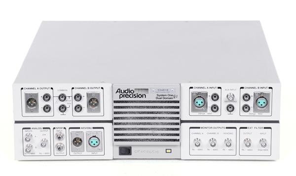 Audio Precision SYS-322A System One Dual Domain Audio Tester