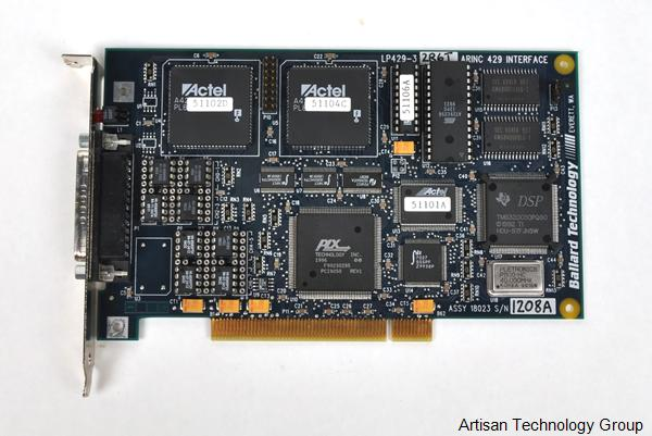 Astronics / Ballard Technology LP429-3 ARINC 429 PCI Interface