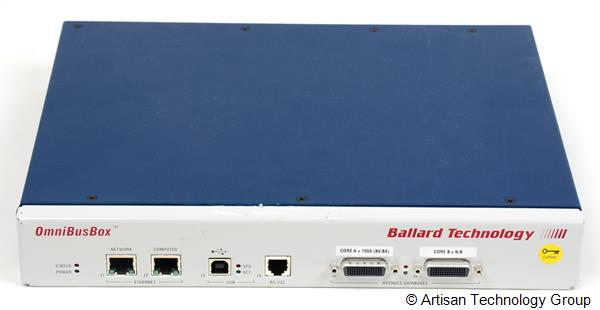 Astronics / Ballard Technology 162-522-000 OmniBusBox High-Performance Ethernet/USB Avionics Databus Interface - MIL-STD-1553
