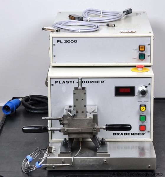 brabender pl 2000 plasti corder in stock we buy sell repair rh artisantg com