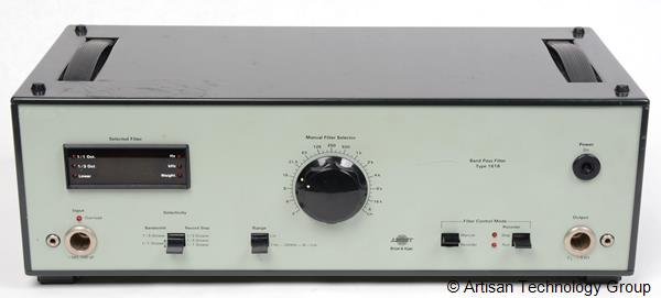 Bruel & Kjaer Type 1618 Band Pass Filter