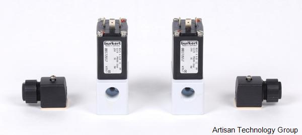 Burkert 0121 2/2 and 3/2-Way Solenoid Valve For Aggressive Fluids
