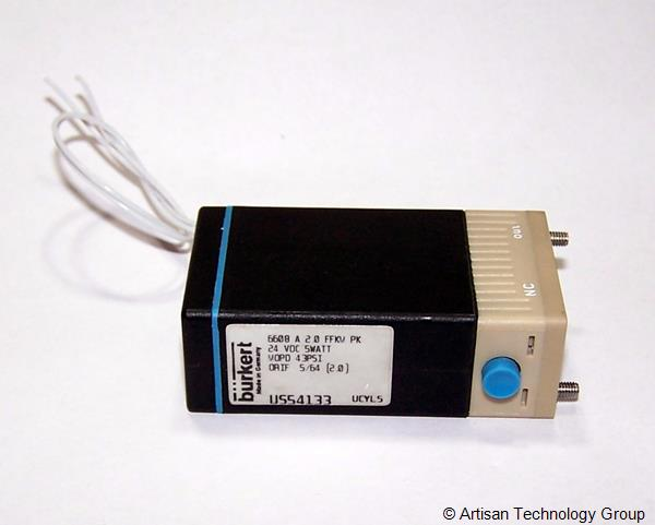 Burkert 6608 Series 2/2- and 3/2-Way Rocker Solenoid Valve