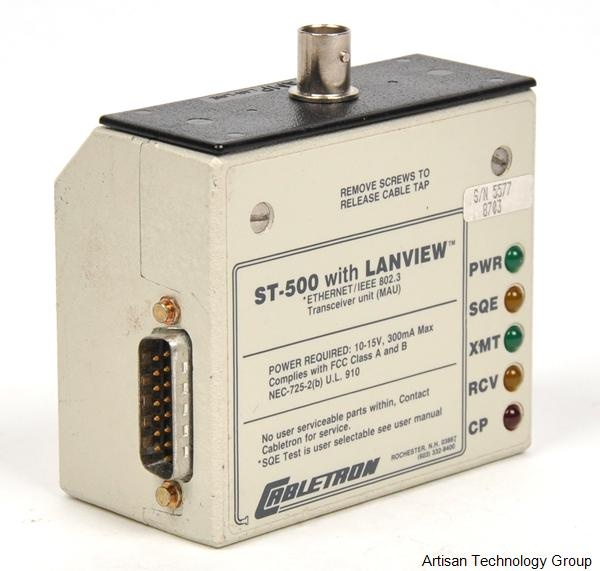 Enterasys / Cabletron ST-500 Ethernet/IEEE 802.3 Transceiver with Lanview