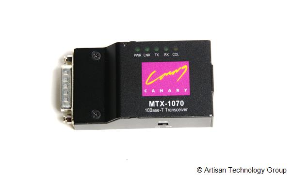 Canary Communications MTX/MBX Series Miniature 10Base Transceivers